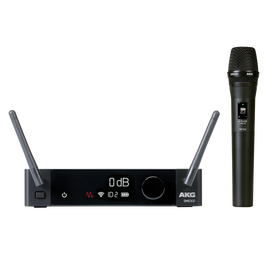 DMS300 Microphone Set - Black - Digital wireless microphone system - Hero