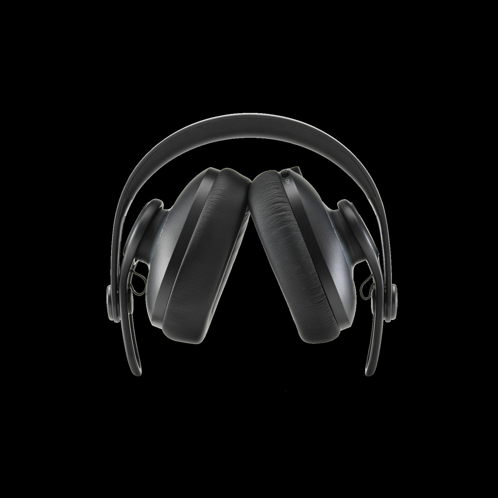 K361-BT - Black - Over-ear, closed-back, foldable studio headphones with Bluetooth - Detailshot 1