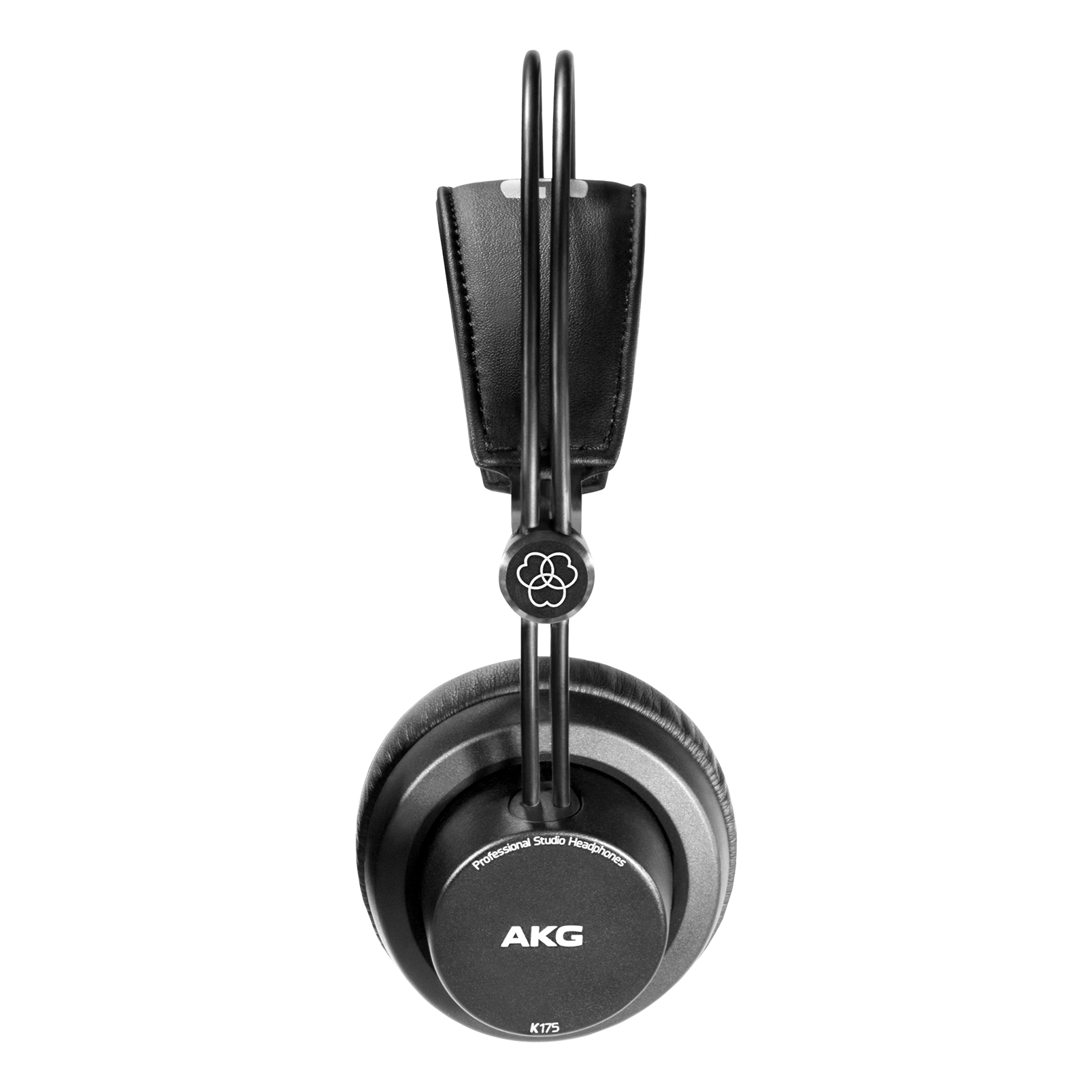 K175 - Black - On-ear, closed-back, foldable studio headphones - Left
