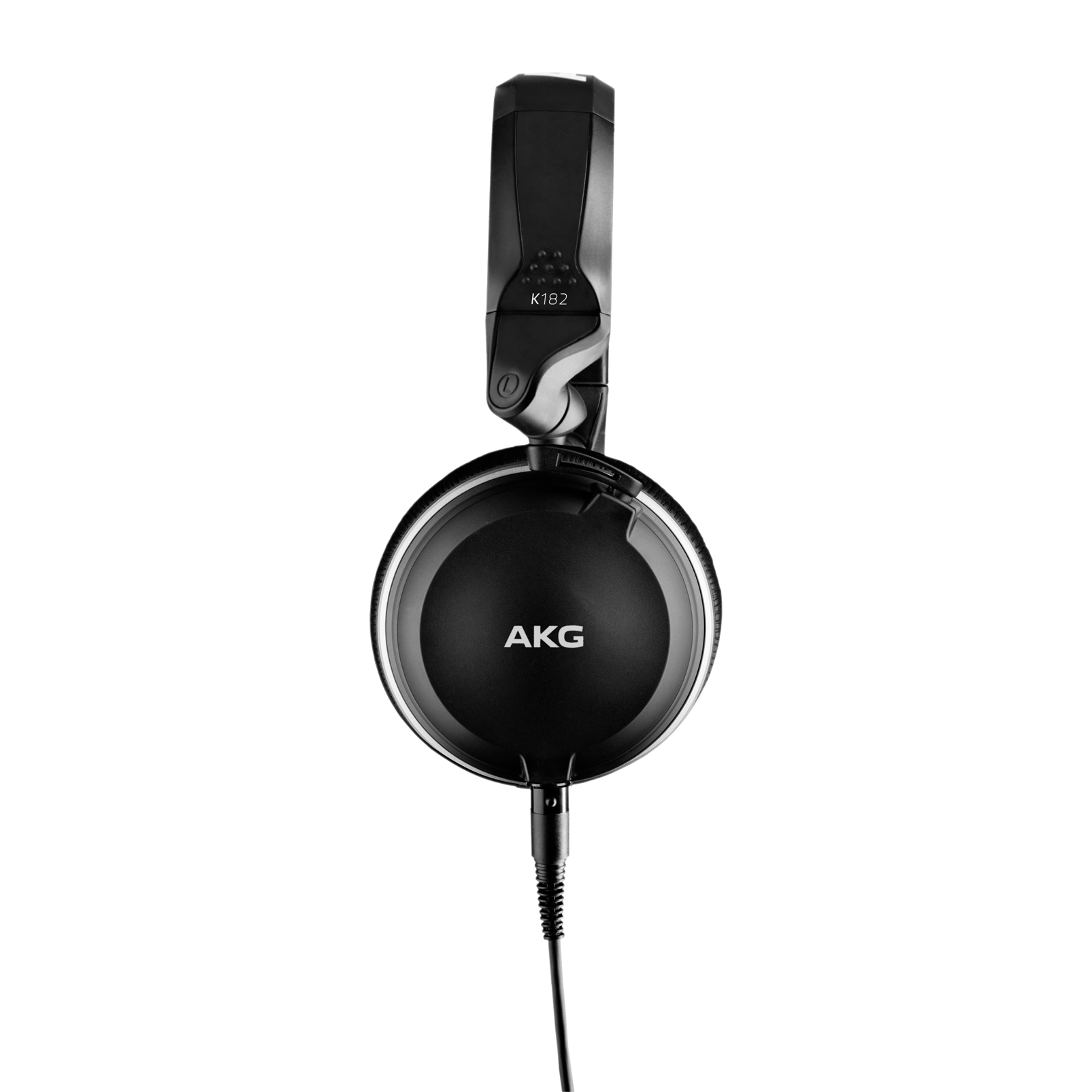 K182 - Black - Professional closed-back monitor headphones - Left